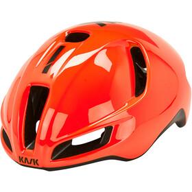 Kask Utopia Fietshelm, orange/black